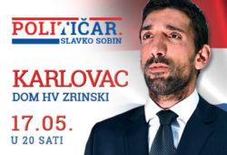 """KOMEDIJA """"POLITIČAR"""" 17. SVIBNJA U KARLOVCU!"""